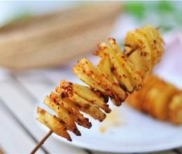 风琴土豆(空气炸锅菜谱)