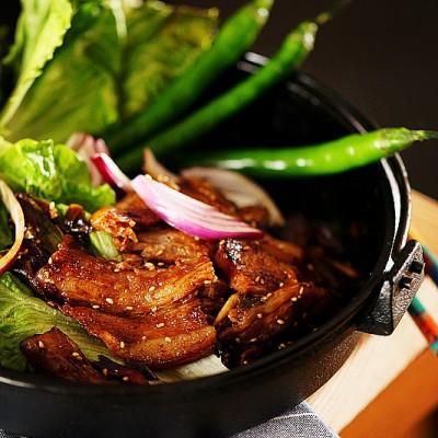 韩式铁板烤五花