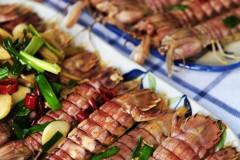 葱姜炒爬虾