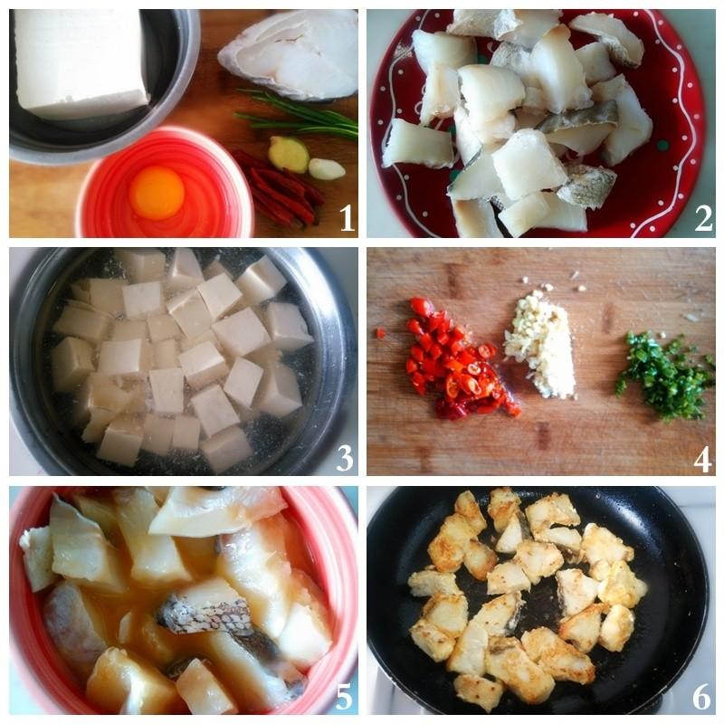鳕鱼嫩豆腐--补钙补脑