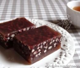 红豆马蹄糕