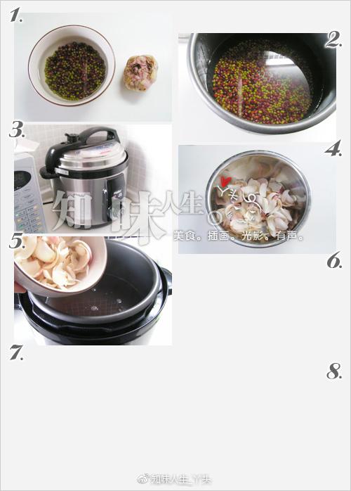 红绿百合汤&梨藕百合汤