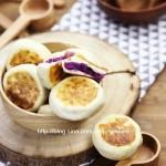 电饼铛紫薯馅饼