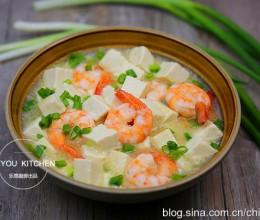 虾仁烩豆腐