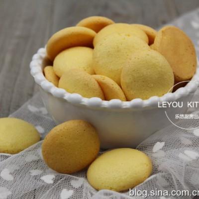 无油低糖蛋黄饼干