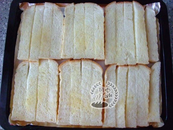 黄油砂糖土司条