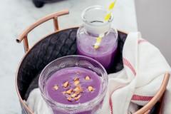 紫薯的功效与作用--紫薯米糊