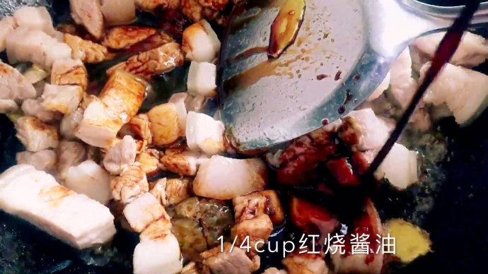 鲍鱼炸豆腐烧肉