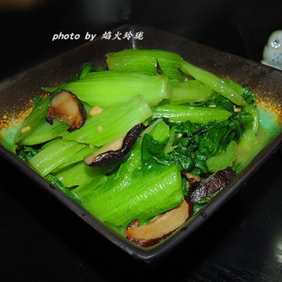 豆酱香菇猪乸菜
