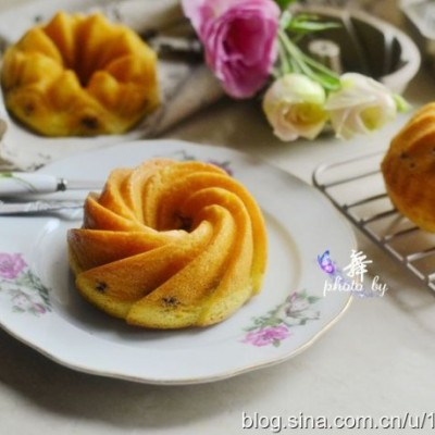 豆沙糯米小蛋糕