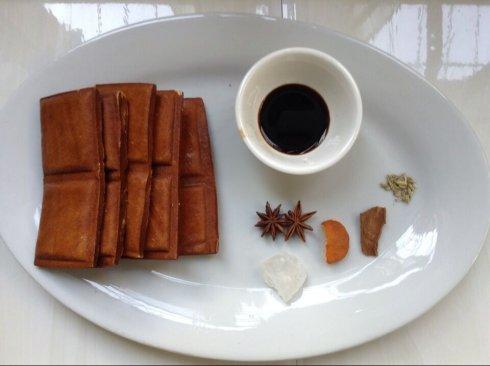 红烧味卤豆腐干