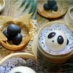 熊猫黑芝麻包