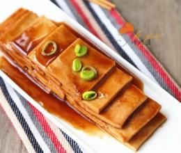 酱汁卤千页豆腐