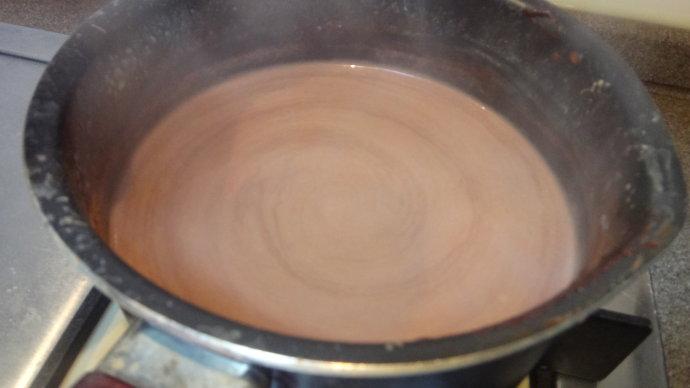 焦糖肉桂热巧克力