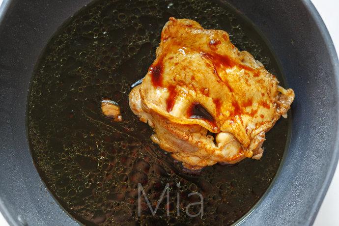 豉油鸡排饭