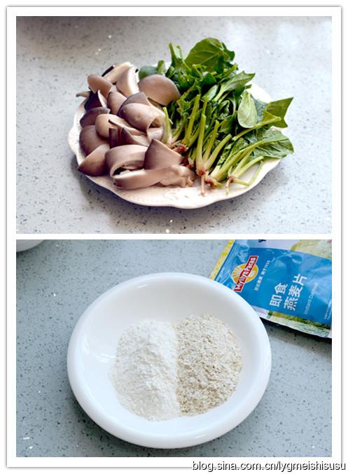 燕麦肉片疙瘩汤