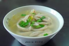 咸菜猪小肚汤--清热利湿、益脾补肾