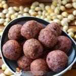 紫薯糯米球