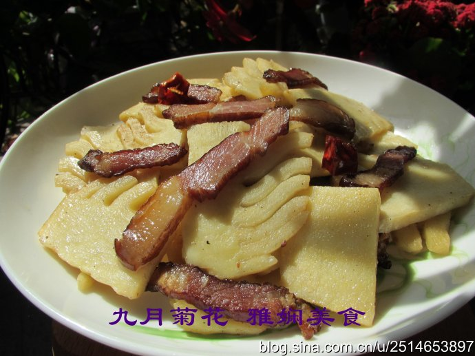 春笋炒腊肉