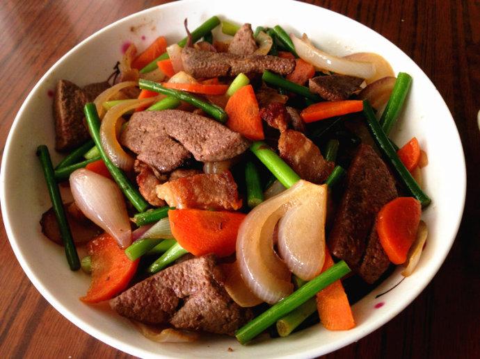 土匪猪肝--湘西特色菜
