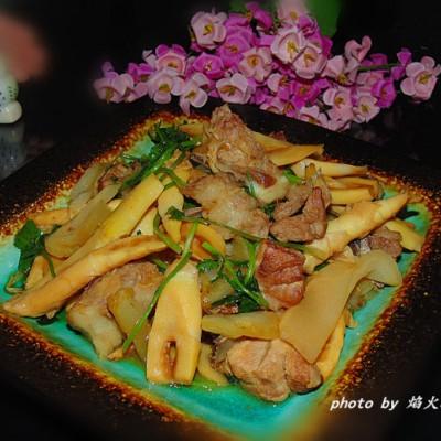 春笋咸菜焖排骨