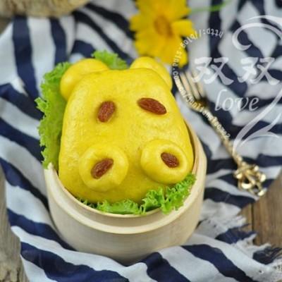 河馬南瓜饅頭&南瓜豬蹄卷