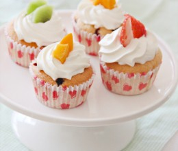 蔓越莓水果小蛋糕