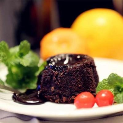 巧克力软心蛋糕