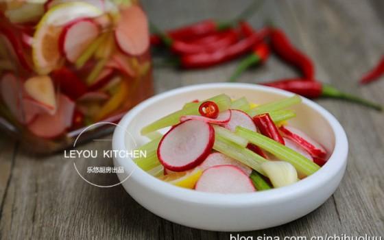 泡菜界的小清新,几个小时就可以上桌