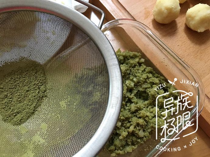 双味绿豆糕,夏季办公室消暑解馋的下午茶