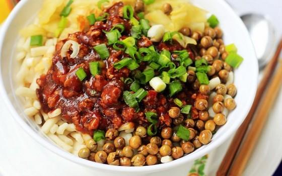 鸡肉拌二节子--新疆菜谱