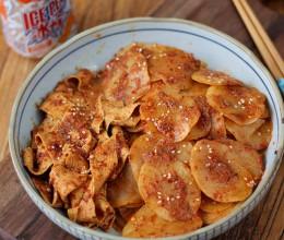 《怀念香辣土豆片》小时候校门口的味道