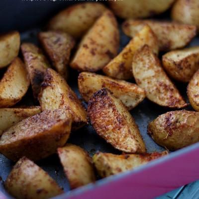 《烤薯角》
