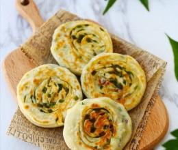 外焦里嫩的迷人美味:迷你葱油饼