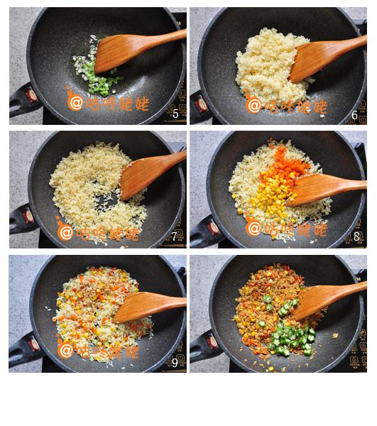 炒饭怎么做好吃--酱油炒饭