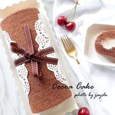 唇齿留香的可可蛋糕卷