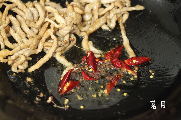 泡菜炒肉丝