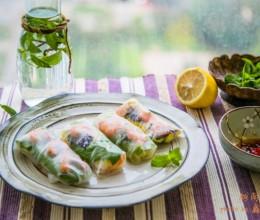 夏天的灵魂美食------越南春卷