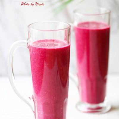 产后补血的精力汤:红色活力饮