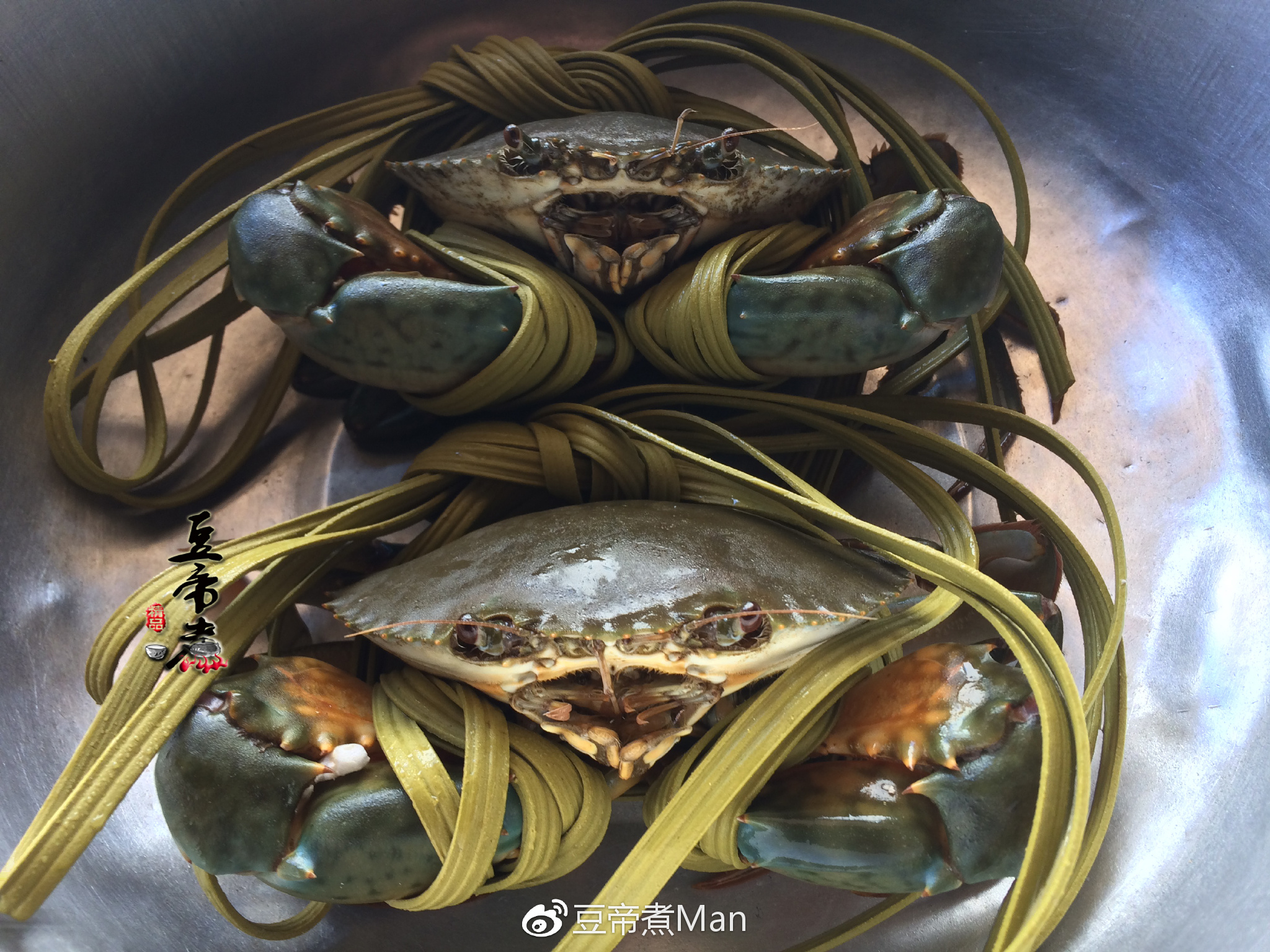 螃蟹处理窍门