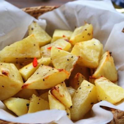 烤薯角,比炸薯条还好吃