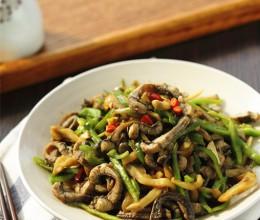 小暑养生-青椒榨菜炒鳝丝