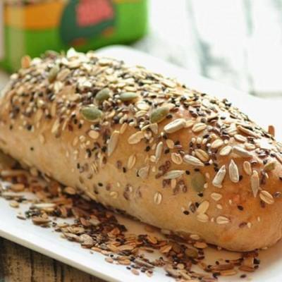 低卡有嚼劲的黑麦谷物软欧面包