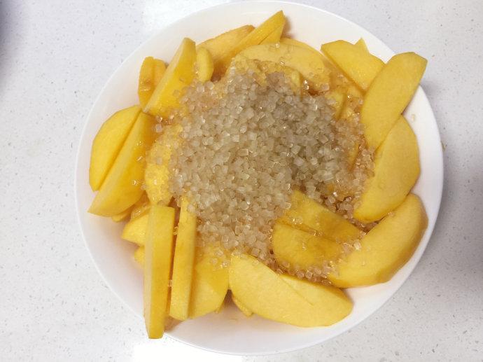 黄桃季自制小时候味道的黄桃罐头