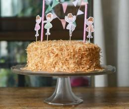 椰子奶油蛋糕