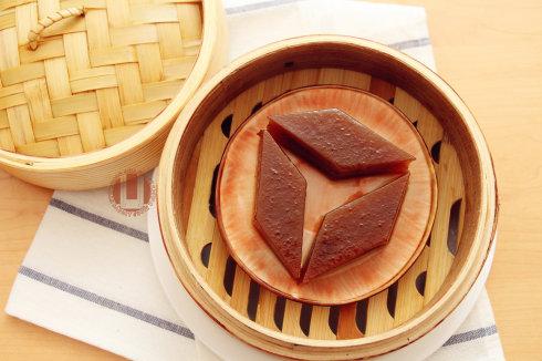 红枣千层糕(蒸的好吃不上火哦~)