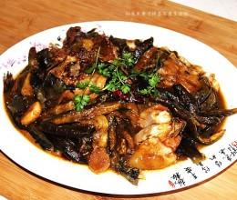 东北菜-鲶鱼炖茄子