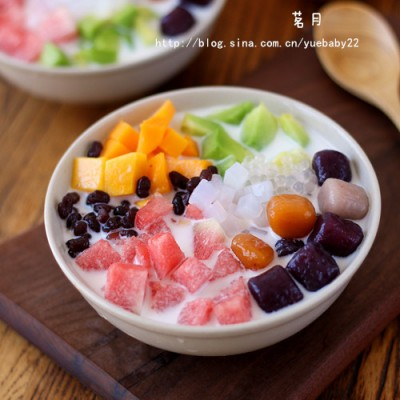 芋圆水果捞
