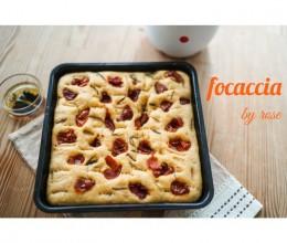 炎热天气也让你食欲大增的意大利经典面包-佛卡恰