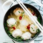 【雞肉丸子湯】減肥必吃的健康低脂料理